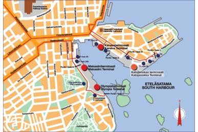 Katajanokan Satama Viking Line Terminaali Stadissa Fi