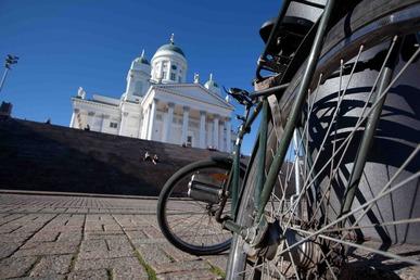 Helsinki Pyöräilykartta