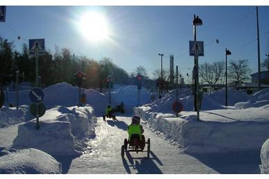 lasten liikennekaupunki Kajaani